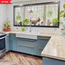 ikea kitchen cabinets remodel blue ikea cabinet kitchen reno apartment therapy