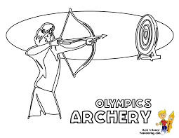 olympics summer coloring sheets free aquatics cycling