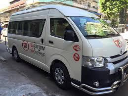 toyota hiace vip phnom penh to sihanoukville bus van from thb 11