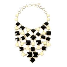colored necklace images Color block bib necklace shop amrita singh jewelry