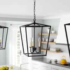 black lantern pendant light black foyer pendants you ll love wayfair