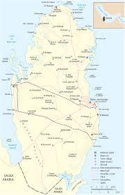 doha qatar map qatar map doha