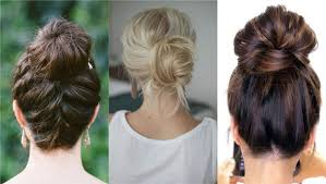 different hair six different ways to upgrade your hair bun for a stylish look