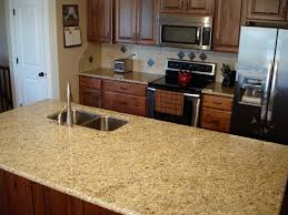 installing granite countertops on existing cabinets awesome giallo ornamental granite installed design photos and