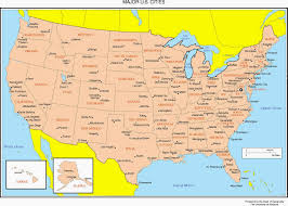 United States Map With Alaska by Usa Map Bing Images Us Map With Cities Grey Maps Of The United