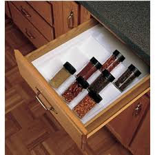 Cabinet Drawer Inserts Rev A Shelf Spice Racks And Spice Drawer Inserts Kitchensource Com