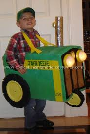 coolest homemade tractor costumes