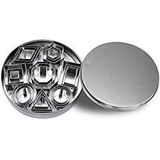 shenghai geometric shapes cutters mini cutters