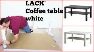 ikea lack coffee table youtube