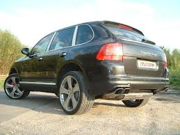 2004 Porsche Cayenne S - back performance exhaust system for porsche cayenne turbo from