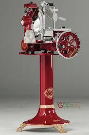 manual slicer berkel flywheel tribute vltrib red with pedestal