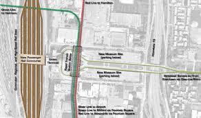 Map Of Silver Line Metro by Metro Cincinnati Silver Line