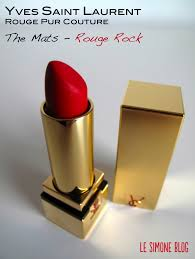 yves saint laurent rouge pur couture the mats rouge rock attention