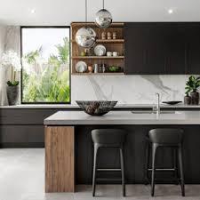 modern kitchen black cabinets 75 beautiful contemporary kitchen with black cabinets