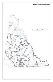 Map Of Yukon Env Administrative Boundaries