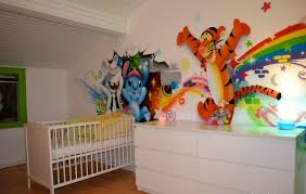 deco chambres enfants décoration de chambre enfant photo 2 2 fresque réalisée dans