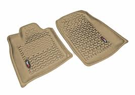 floor liners front tan 2011 dodge durango jeep grand cherokee