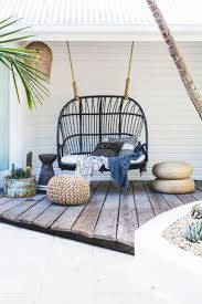 Swing Chair Patio Hammock Hanging Rope Chair Porch Swing Seat Patio Cing Portable