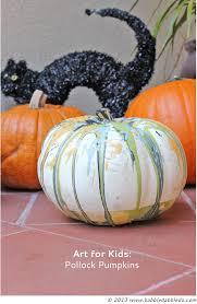 art for kids pollock pumpkins babble dabble do