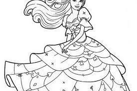 coloring pages printable barbie free printable barbie coloring