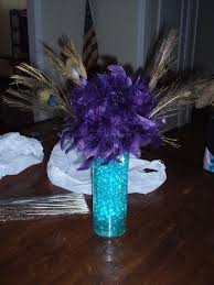 Peacock Feather Centerpieces by 11 Best Spring Fling Decor Images On Pinterest Peacock Decor