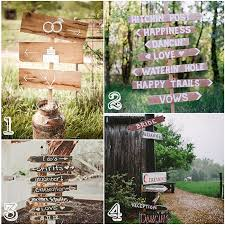 wedding signs diy diy wedding signs mountain modern