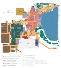 Las Vegas Hotel Strip Map by Bellagio Casino Property Map U0026 Floor Plans Las Vegas