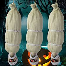 halloween hanging spooky ghost outdoor scary zombie mummy haunted