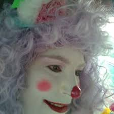 clowns for hire island hire lollipop the clown painter in island