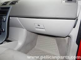 volvo c30 glove box removal c30 t5 2008 2013 c30 t5 r design