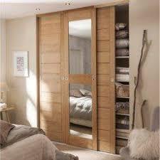 porte placard chambre kazed portes de placard coulissantes kabourg naturel chambre à