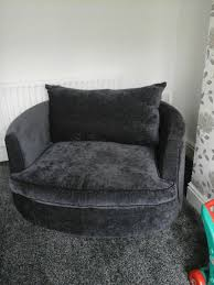 used swivel cuddle chair and 3 4 seater sofa in s13 sheffield for