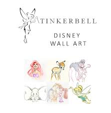 tinkerbell sims disney wall art tinkerbell emmelyn wanted