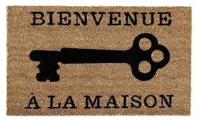 here are some great doormats to welcome guests