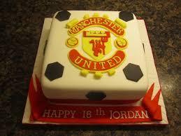man utd birthday cake cakecentral com