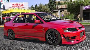 mitsubishi lancer mitsubishi lancer evolution ix mr add on gta5 mods com