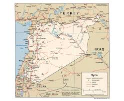 Syria World Map by Maps Of Syria Detailed Map Of Syria In English Tourist Map