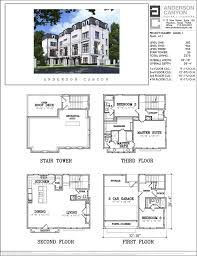 A 1 Story House 2 Bedroom Design 52 Best 4 Story Th Plan Images On Pinterest House Floor Plans 4
