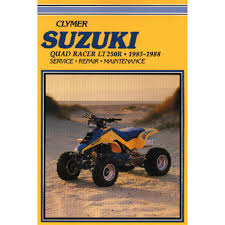 28 85 suzuki quad repair manual 80453 cyclepedia suzuki