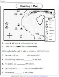 globe and maps worksheet maps and globes a printable book for introducing map skills