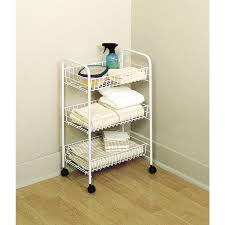 Rubbermaid Bathroom Storage by Amazon Com Rubbermaid 3 Tier Wheeled Storage Cart 82000