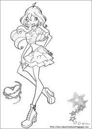 bloom coloring pages bloom winx club fairy coloring pages