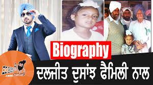 biography for mother diljit dosanjh with family biography mother father