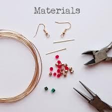 earrings diy diy christmas tree earrings tutorial golden age