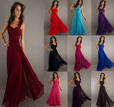 new formal evening gown prom bridesmaid dress