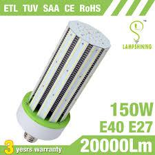 light bulb conversion to led 150w led corn bulb equivalent 500 watt metal halide l