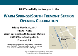 Bart Map And Schedule by Warm Springs Extension News Bart Gov