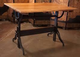 Custom Drafting Tables Antique Drafting Table Custom Beblincanto Tables Build An