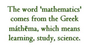 math facts high school math cap