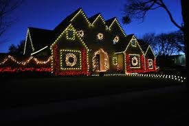 c9 christmas lights christmas windows dallas outline many sections of your home with
